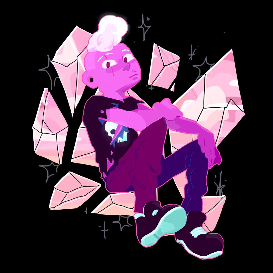 it's the pink zombie boy