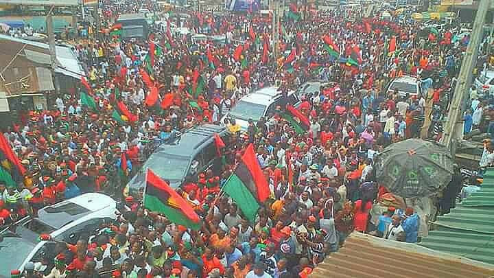 Image result for NNAMDI KANU BSS