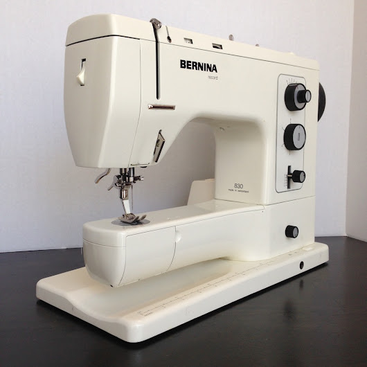 Bernina 830 Record Review