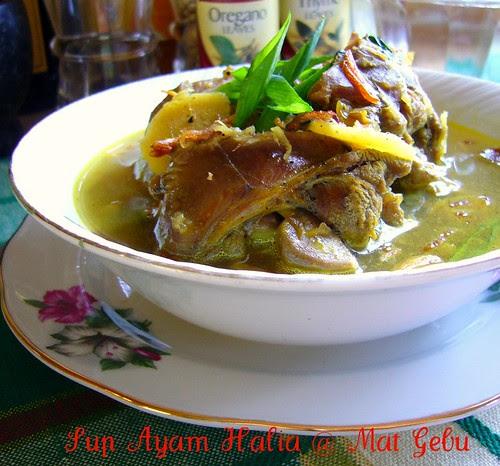 Sup Ayam Halia