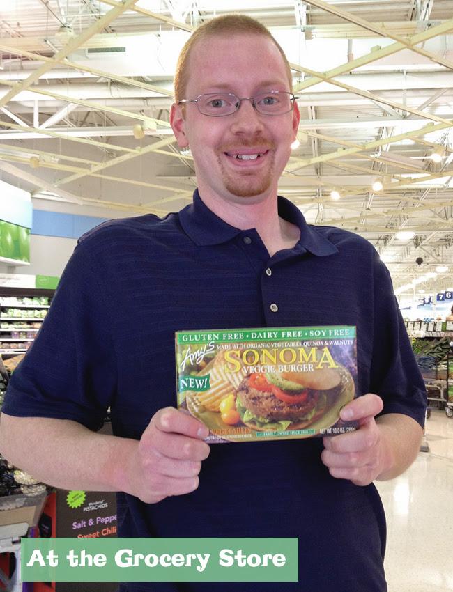 Dan at grocery
