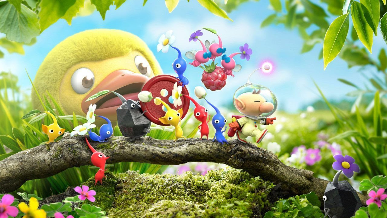 Hey! Pikmin's amiibo functionality is neat, but basic screenshot