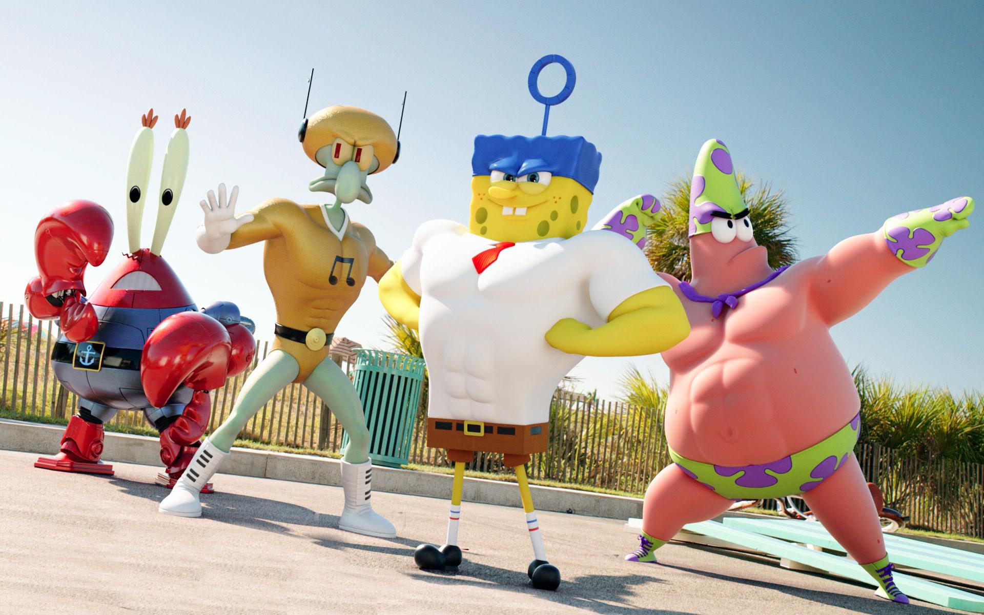 Wallpaper Spongebob And Friends