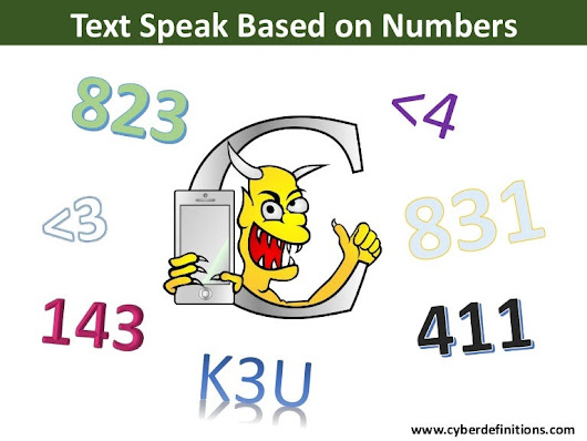 Text Speak Based on Numbers
