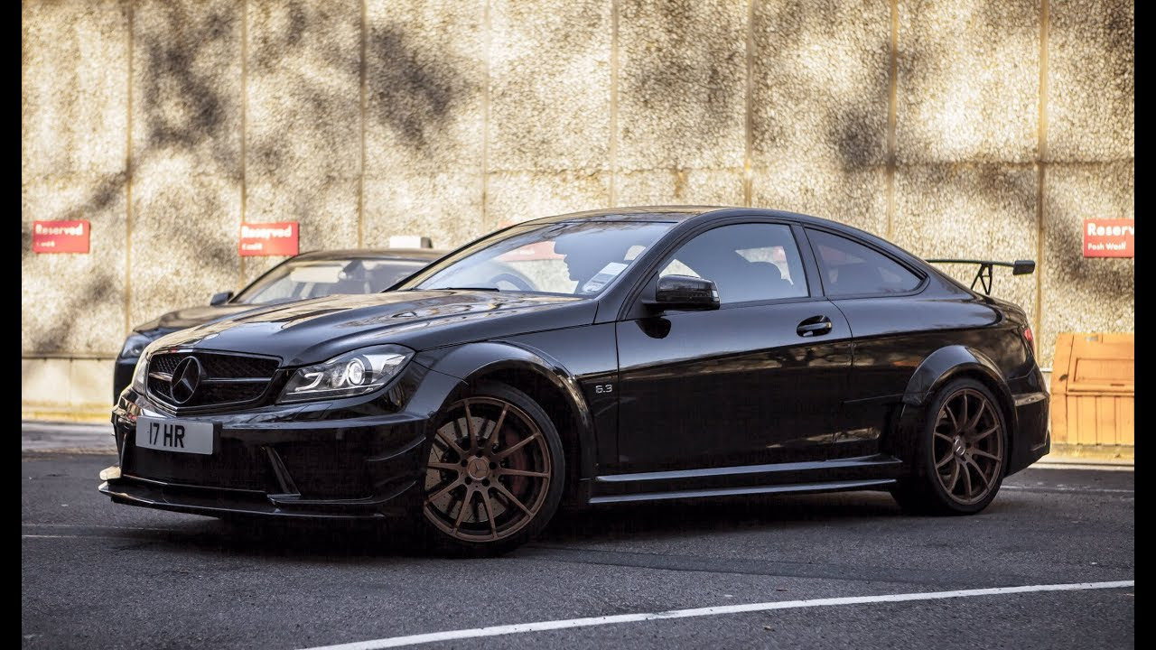 LOUDEST Mercedes C63 AMG Black Series EVER - EPIC ...