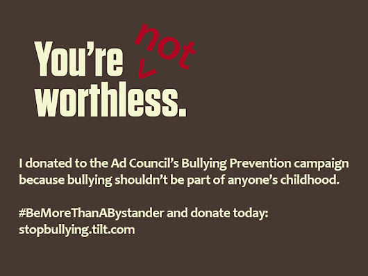 Donate Now to Help Stop Bullying