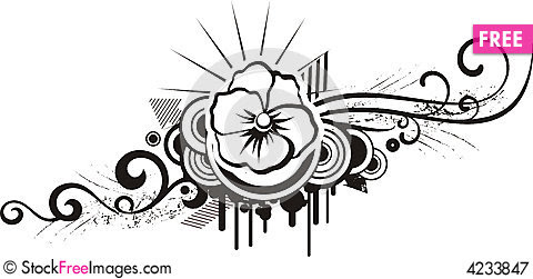 Free Simple Flower Designs Black And White Download Free Clip Art