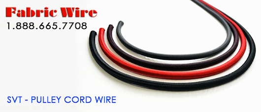 Pulley Cord Wire - Cloth Covered wire from FabricWire