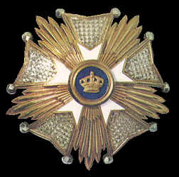 Grand Officer, Order of the Crown