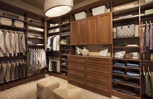 Design Ideas for Walk-in Closets | GTA Closets