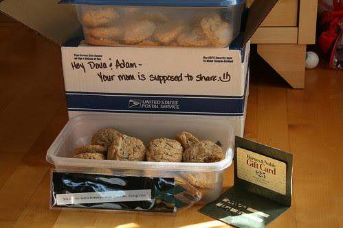 Melissa's box of goodies