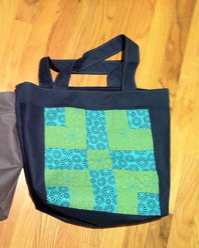 Bag #12 (green/blue)
