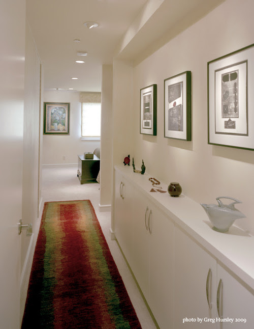 Art Display Wall and Shelf contemporary hall