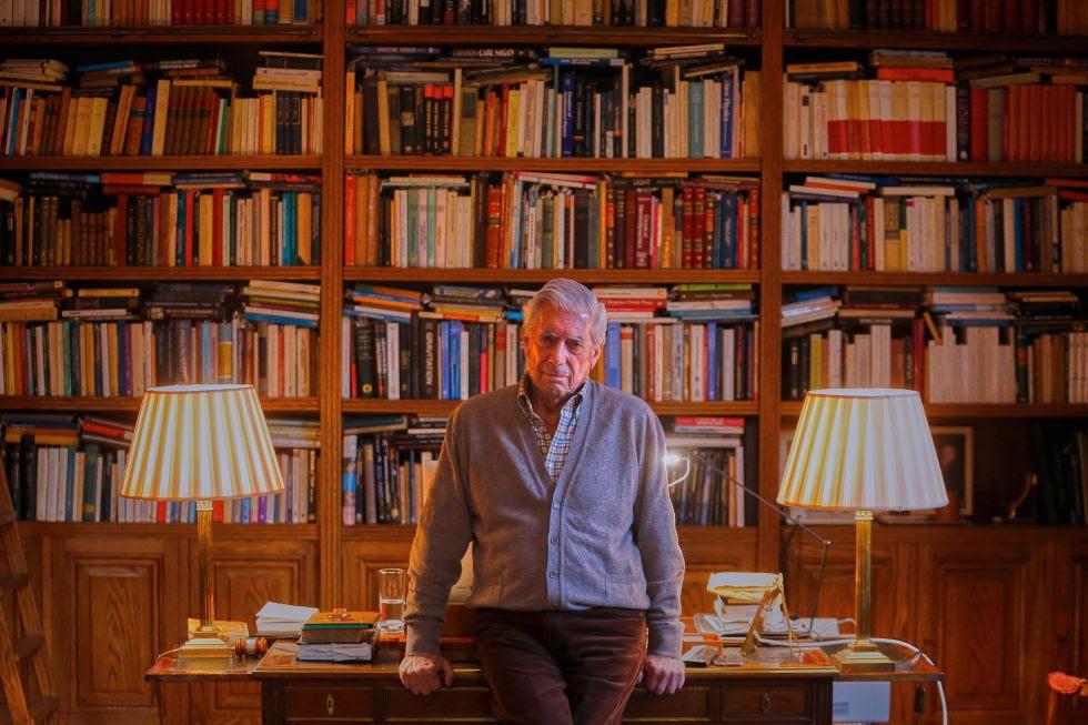 Mario Vargas Llosa, en Madrid.