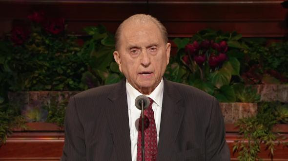 Be An Example And A Light By President Thomas S Monson