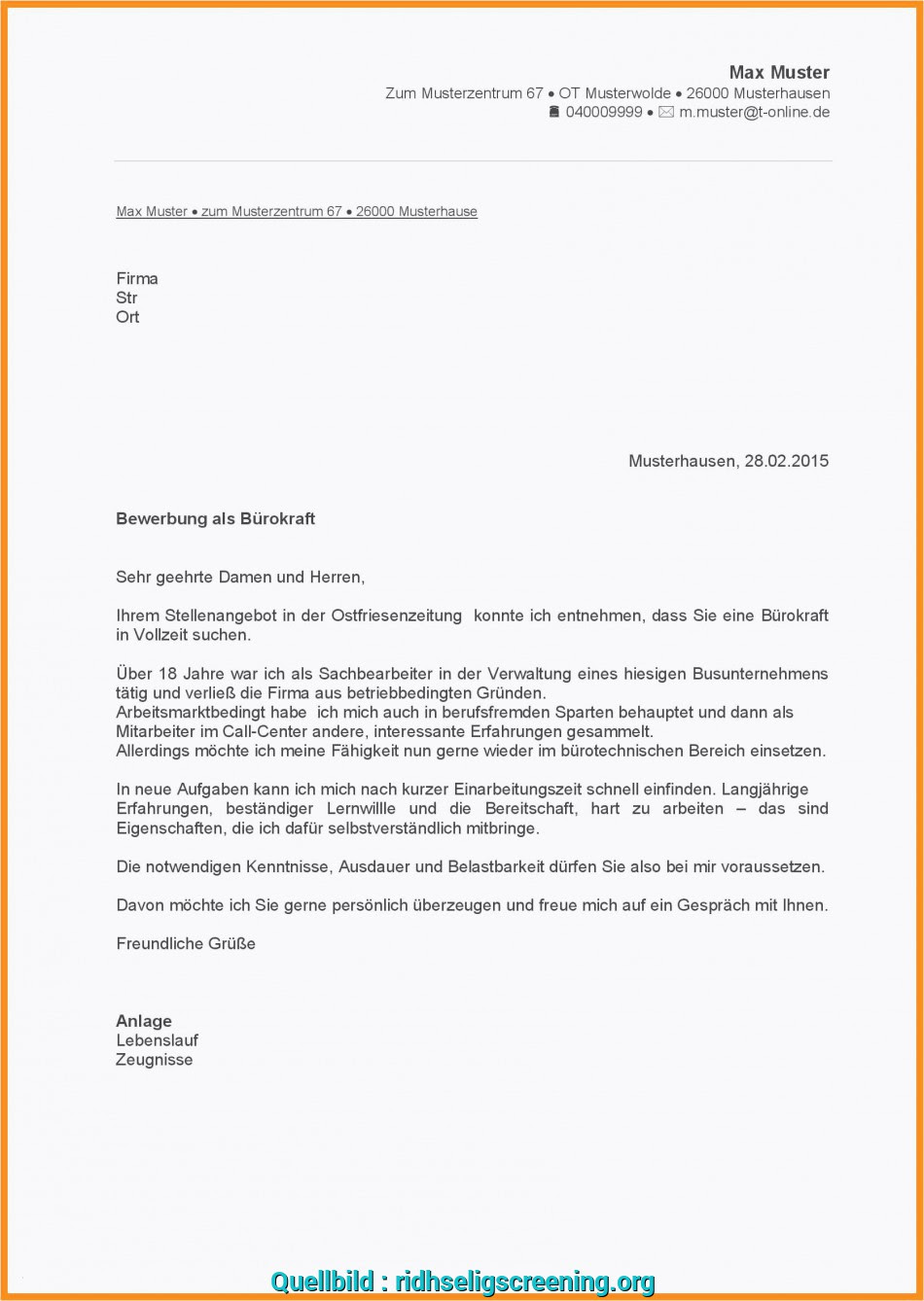 Absage Anfrage Mustertext