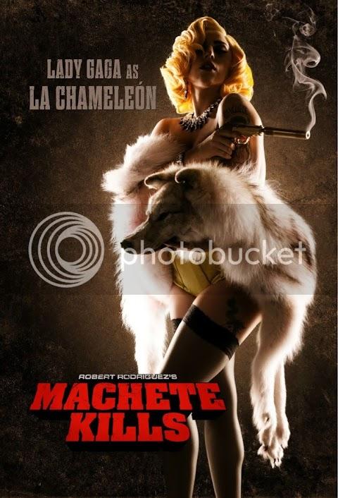 lady gaga debutta al cinema in machete kills di robert rodriguez, prima foto