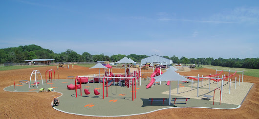 New Rescue Ranch Inclusive Playground (Earnhardt Family Playground) - Carolina Parks and Play
