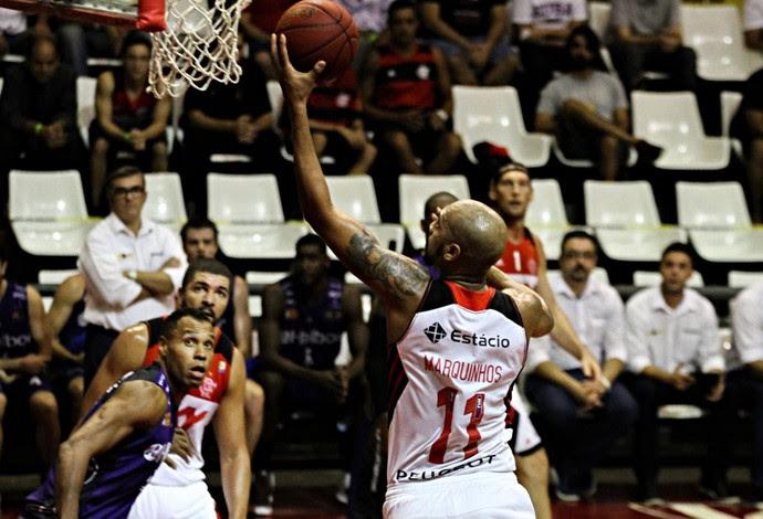 Flamengo x Mogi Mirim, basquete NBB (Foto: Bruno Lorenzo/Divulgação)