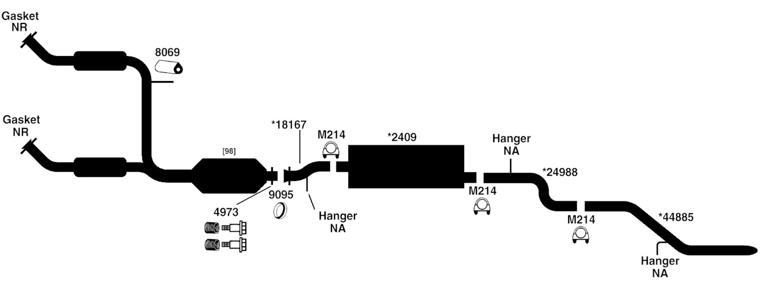 26 2003 Ford Explorer Exhaust System Diagram