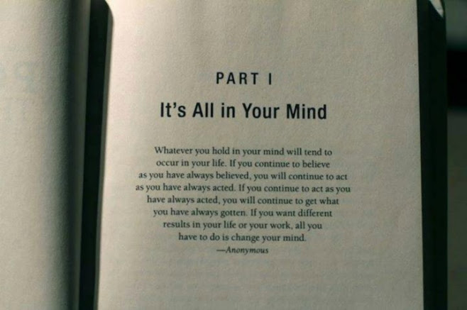 Its All In Your Mind Quote Anonymous 9buz