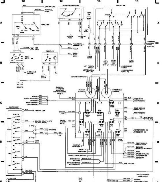 [DIAGRAM] 94 Jeep Cherokee Wiring Diagram