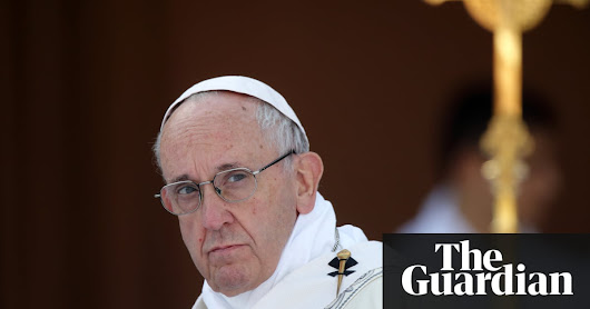 Pope Francis tells oil bosses world must reduce fossil fuel use | World news | The Guardian