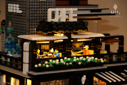 Relax at the end of a long day with a visit to Modular Café | The Brothers Brick