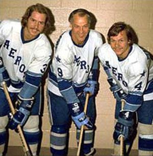Mark,Gordie and Marty Howe