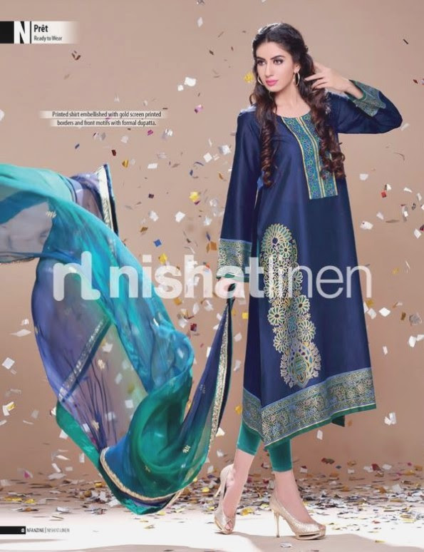 Nishat-Linen-Eid-Dress-Collection-2013-Pret-Ready-to-Wear -Lawn-Ruffle-Chiffon-for-Girls-Womens-23