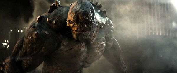Doomsday reveals himself in BATMAN V SUPERMAN: DAWN OF JUSTICE.