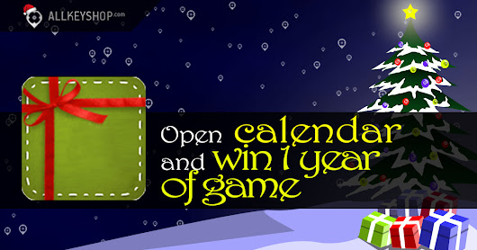 Christmas giveaway : Win 1 year of video game