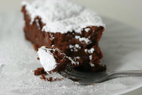 Chocolate Armagnac Cake (sorta)