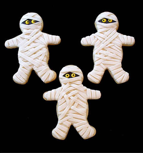 Mummy Sugar Cookies | CraftyBaking | Formerly Baking911