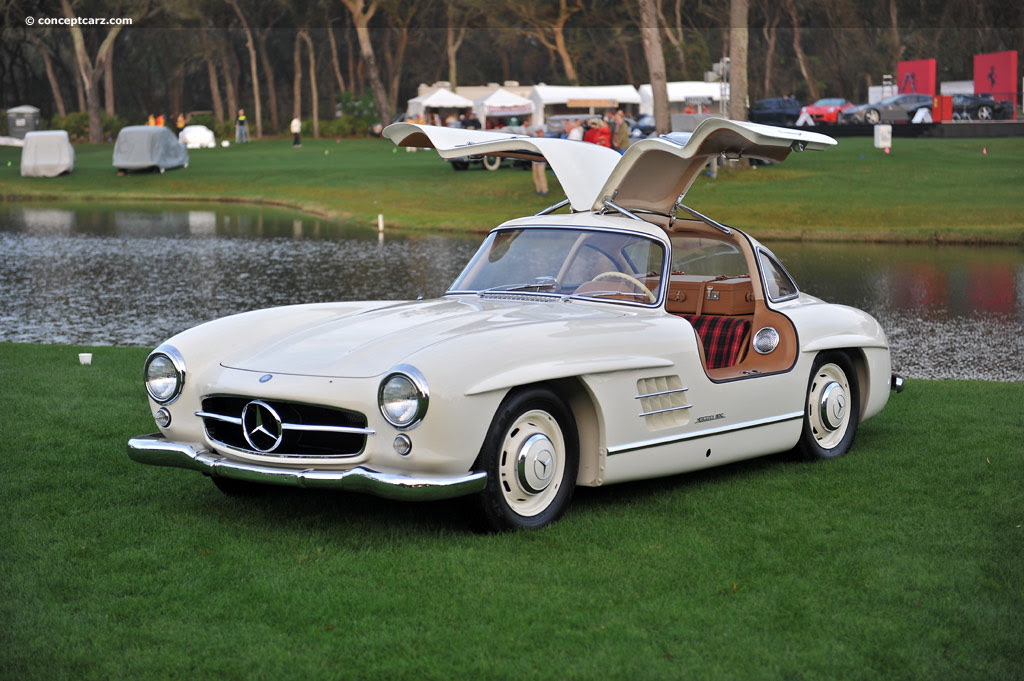 1955 Mercedes-Benz 300 SL Gullwing at the 17th Annual ...