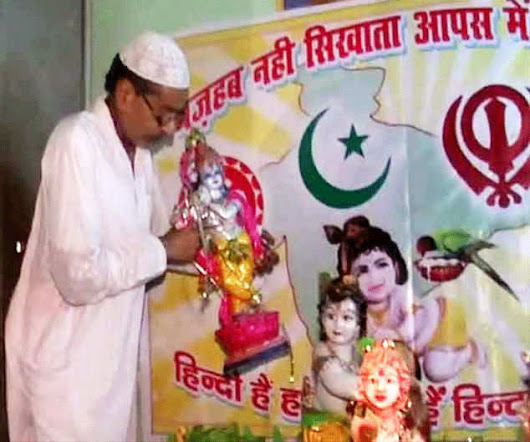 Lord Krishna takes birth in Muslim devotee's house in Kanpur - The Times of India