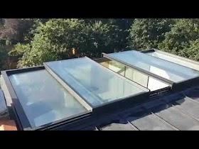 Atap Kaca Sliding