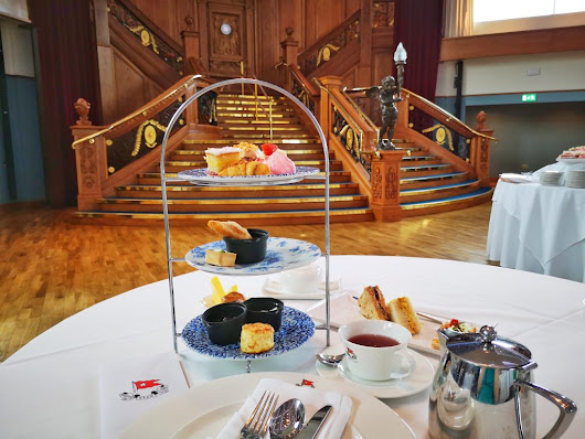 Afternoon Tea at the Titanic Museum – A Delicious Afternoon Tea in Belfast - Tales of a Backpacker