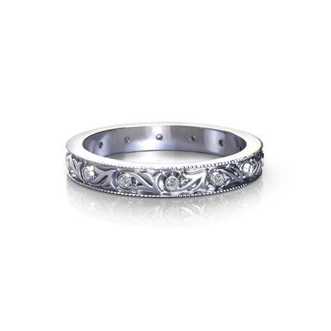 Antique Diamond Wedding Ring   Jewelry Designs