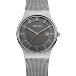 BERING Classic Slim Watch With Scratch Resistant Sapphire Crystal 11938-007. Designed In Denmark - 11938-007