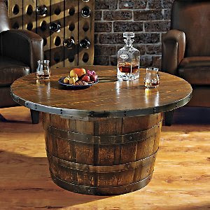 Wine Barrel Coffee Table Infobarrel