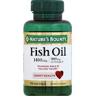 Nature's Bounty Fish Oil, Softgels - 39 count