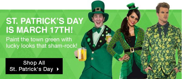 Stpatricks Day Costume Ideas From Buycostumes