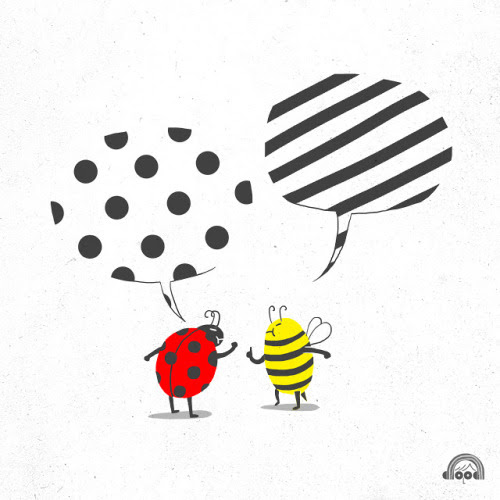 ilovedoodle: Pattern Conflicts on Flickr.  Doodle Everyday (Day 112) by Lim Heng Swee