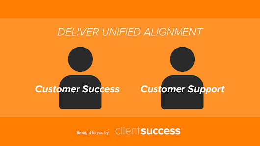 How to Align Customer Success & Customer Support
