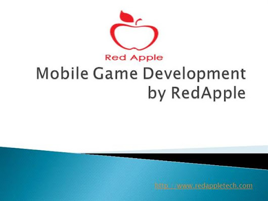 Mobile Game Development by Redapple