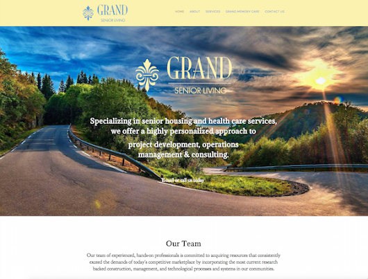 Featured Website: Grand Senior Living