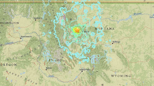 Montana Earthquake Is Felt For Hundreds Of Miles Early Thursday