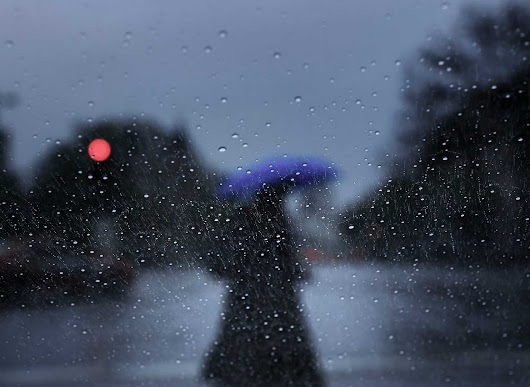 The five stages of grief: How to cope with endless rain