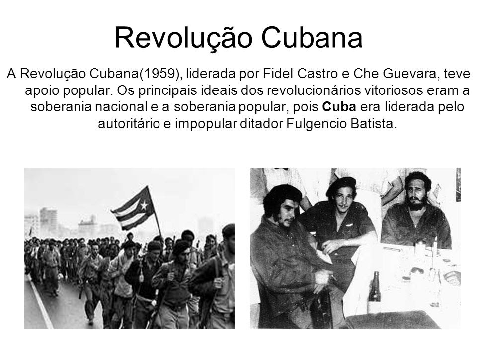 Resultado de imagem para fidel castro e che guevara revolução cubana